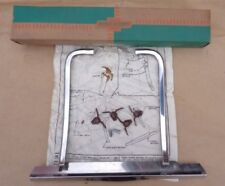 NOS 1959 Chevy Impala LICENSE PLATE POCKET GUARD Original Chevrolet Accessory ss