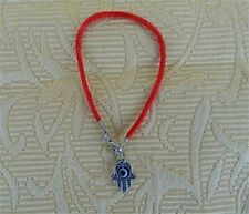 Hamsa Hand of Fatima Red String Bracelet Luck - Protection