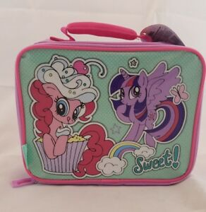 My Little Pony Sweet! Sparkle Rainbow Pinkie Thermos Soft Insulated Lunch Box
