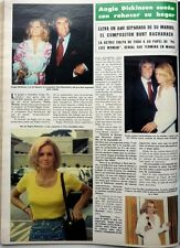 ANGIE DICKINSON =>  1 page 1977 vintage SPANISH CLIPPING !!!