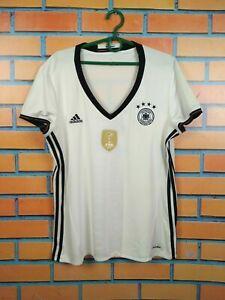 Germany Jersey Women 2016 2017 Home XL Shirt Adidas Football Soccer AA0137