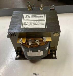 Texas Transformers CC1-07500-12 Dry Type 7.5 KVA Transformer 50/60 Hz Warranty!