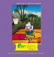 Earobics Step 2 Specialist/Clinician PC MAC CD language literacy reading sounds