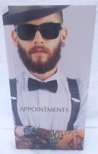 3 Column Appointment Book - Barbers, Tattoo, Male Grooming - 8am - 8:45pm