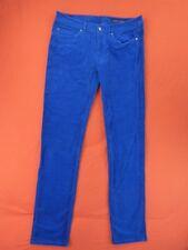 TOMMY HILFIGER Pantalones De Mujer Talla 6 / 38 Fr - Mod ROMA Azul