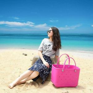 Bogg Style EVA Extra Large Capacity Beach Summer Totes Shopping Lady Basket Bag✅