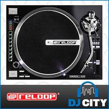 Reloop RP-8000 Direct Drive Professional DJ Vinyl Turntable with Hybrid Midi ...
