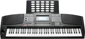Kurzweil Electronic Digital Keyboard Portable 76 Keys w/ Music Stand