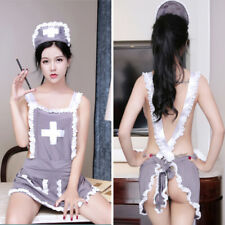Sexy Lingerie Nurse Uniform Costume Hot Erotic Doctor Costume Cosplay SeFHHV