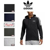 SALE Adidas Mens Full Zip Sweatshirt French Terry Hoodie VARIETY Size/Color  D33