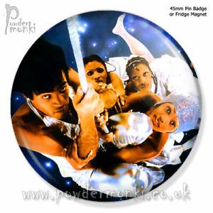 "BONEY M ""NIGHTFLIGHT TO VENUS"" ~ Retro Music Badge/Magnet [45mm]"