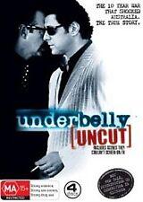 UNDERBELLY (UNCUT DVD SET SEALED + FREE POST)