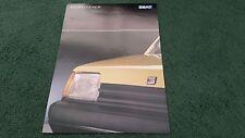 Verano de 1988/1989 SEAT MARBELLA JUNIOR edición especial-Reino Unido Folleto de carpeta A4