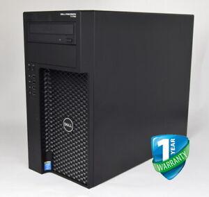 Dell Precision T1700 Tower Xeon E3 CPU 16GB 32GB RAM 240GB SSD K2000 K2200