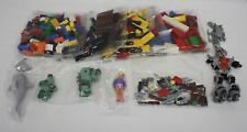 Lego Pieces Bricks Blocks Building Figures NIP over 1 lb. Green Red Yellow Robot