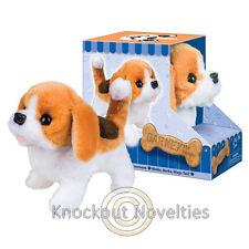 B/O Barney the Beagle Walking Realistic Dog Puppy Wag Pet Walk Nod Move Tail