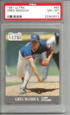 1991 Ultra Greg Maddux PSA 8
