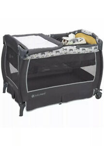 Baby Twins Trend Unisex Portable Deluxe Infant Nursery Center, Goodnight Forest