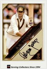 CA Test Cricket Captains L. Edition AUTHENTIC Signature No36 G.N. Yallop