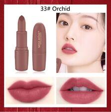 Miss Rose Lipstick Waterproof Long Lasting  brown lipstick MS058 dark vampire J