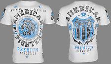 American Fighter Men S/S T-Shirt ALABAMA Lion WHITE Athletic Biker Gym S-3XL $40