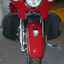 Desert Dawgs Rain Guard/Wind Deflectors - Indian Chief/Chieftain BLACK (Direct!)