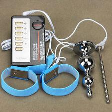 Man Real Men's Penis Electric Pulse Ring Enlarger Enhancer Extender penis Longer