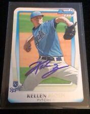 KELLEN MOEN 2011 TOPPS BOWMAN Autographed Signed AUTO Baseball Card BDPP87 ROYAL