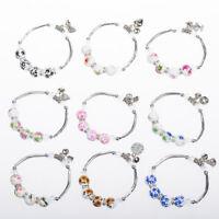 Woman's Fashion Couples Vintage Bracelets  Gemstone Beads Bracelet  Accessories