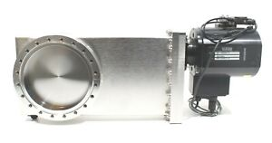 "MDC 6"" High Vacuum Chamber UHV Pneumatic Gate Valve GV 6000M-P Stainless Steel"