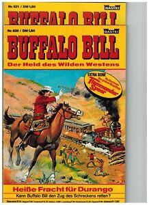 2 x Buffalo Bill Western - Band 620 + 621 - Original - alt - Z 1