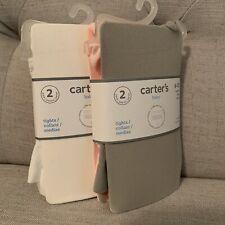 Carter's ruffle bottom tights 6-12 months