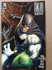 DARK KNIGHT III MASTER RACE #1 (OF 8) AOD COLLECTABLES DALE KEOWN SIGNED COVER