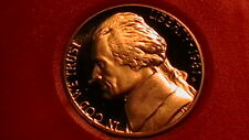 New listing Beautiful 1981-S Proof Cameo Jefferson Nickel! 294B6