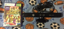 KINECT SENSOR with KINECT ADVENTURES GAME FOR MICROSOFT XBOX 360 ~FREE SHIPPING~