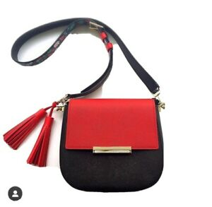 Kate Spade Make it Mine Red Solid Flap