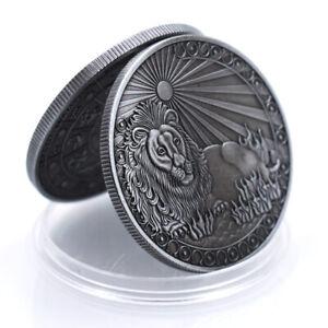 Leo Creative Copper Coin Decorative Metal Coin 12 Constellation Coin Collections