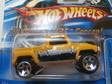HOT WHEELS HUMMER H3T CONCEPT 2006 #173  MADE IN MALAYSIA B2 SHORT CARD
