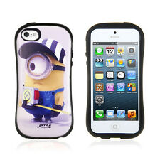 Despicable Me Minions Cutie iFace Anti-Shock Case Cover for iPhone 5 5S Tape