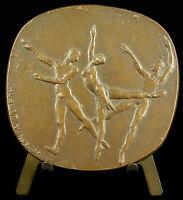 Medal The Dance Dancer Ballet Dancer Classic Hubert Yencesse Medal