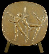 Médaille la danse dance danseur danseuse ballet classique Hubert Yencesse medal