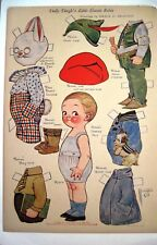 "1927 ""Dolly Dingle"" Paper Doll by G.G. Drayton - Little Cousin Robin *"