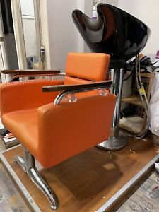 Hairdressing basin, salon basin, hair basin retro