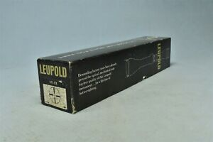 Vintage LEUPOLD M8-6X RIFLE SCOPE SIGHT #16541 SHIPPING BOX ONLY #02696