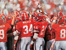 "Georgia Bulldogs 1980 Championship Print ""Glory Days"""
