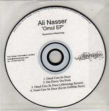 (CU632) Ali Nasser, Omul EP - DJ CD