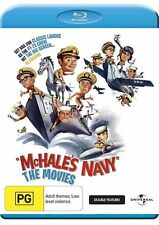 McHale's Navy Movie Double Feature (Blu-ray, 2010) Region Free  New
