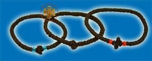 Orthodox Prayer Rope Waxed Thread Komboskini Brojanica Orthodoxer Rosenkranz