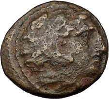 Alexander III the Great 336BC Ancient Greek Coin Hercules Bow Club i35815