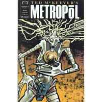 Ted McKeever's Metropol #8 in Very Fine minus condition. Marvel comics [*pp]